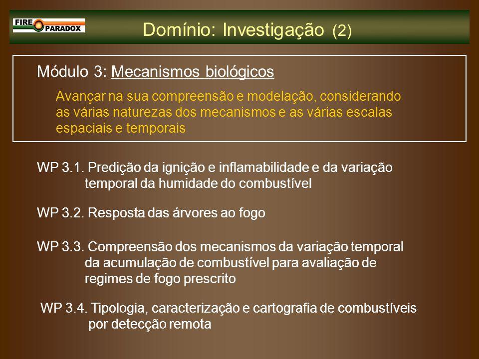Domínio: Investigação (2)