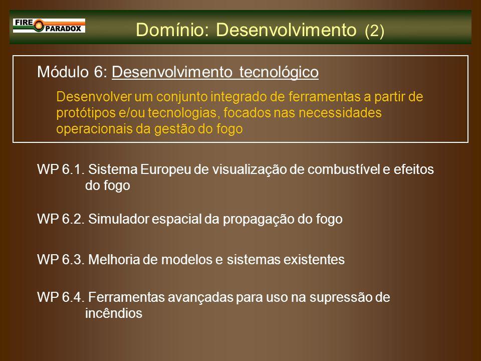 Domínio: Desenvolvimento (2)