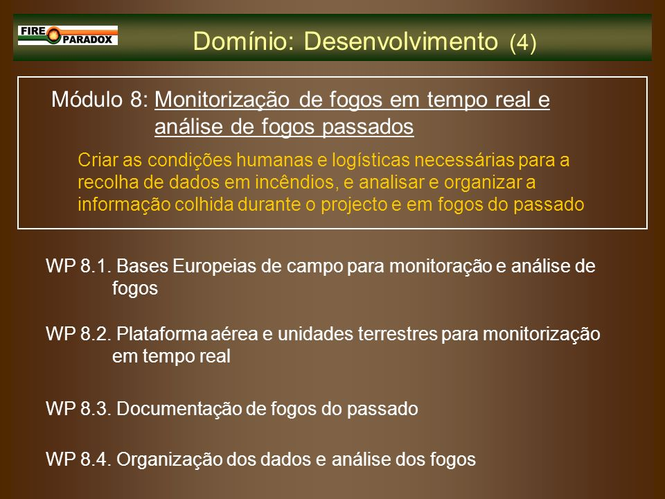 Domínio: Desenvolvimento (4)