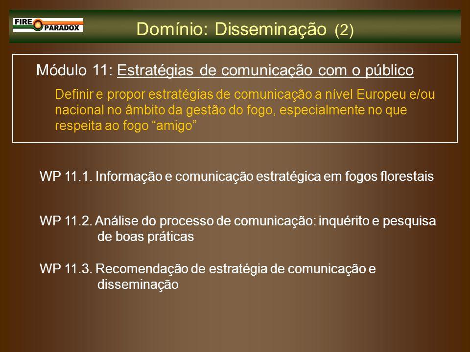 Domínio: Disseminação (2)