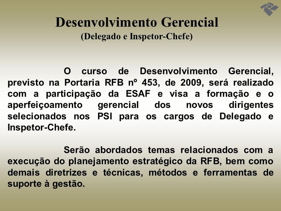 Desenvolvimento Gerencial (Delegado e Inspetor-Chefe)