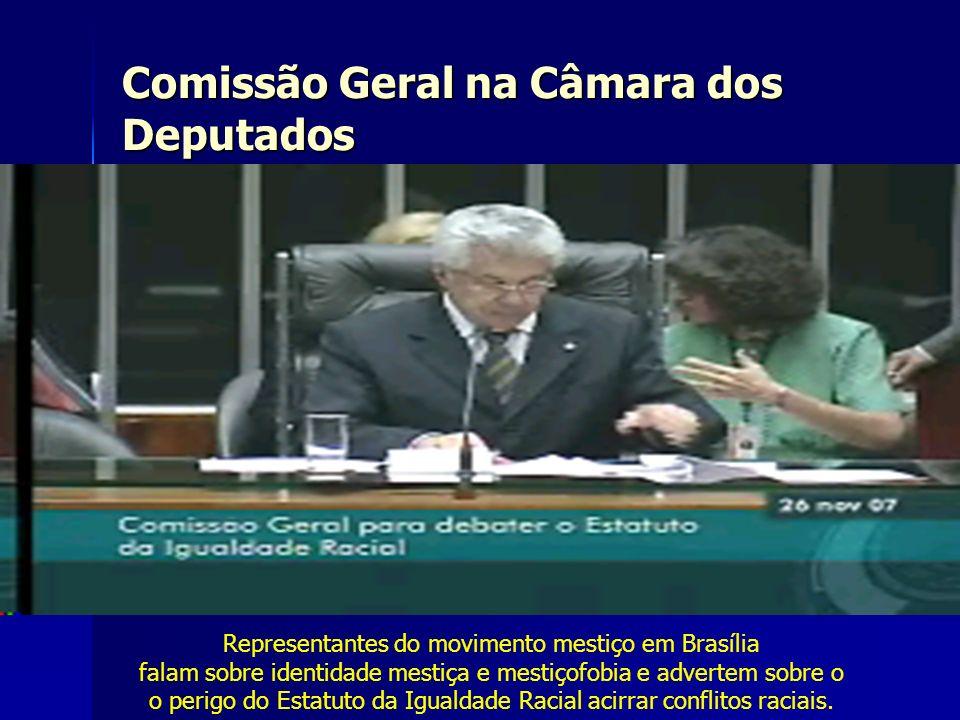 Comissão Geral na Câmara dos Deputados
