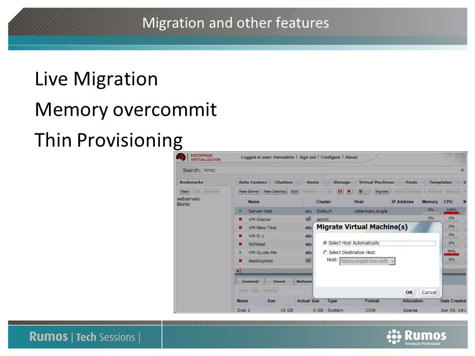 Migration and other features