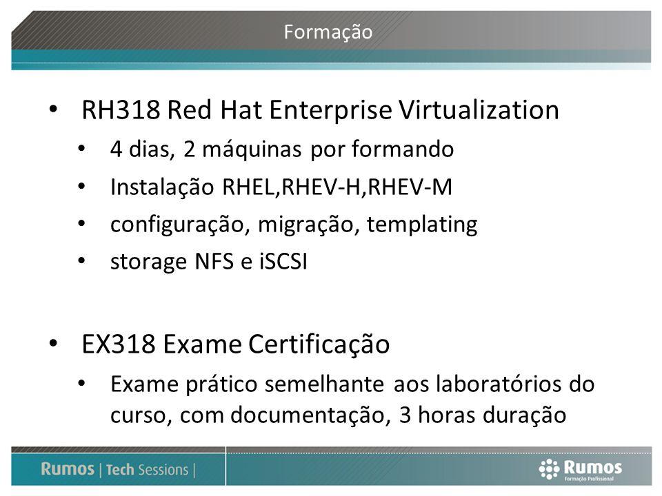 RH318 Red Hat Enterprise Virtualization