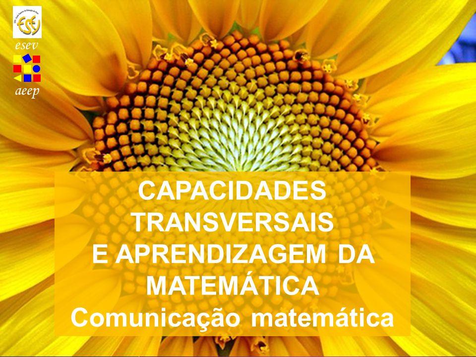 CAPACIDADES TRANSVERSAIS E APRENDIZAGEM DA MATEMÁTICA