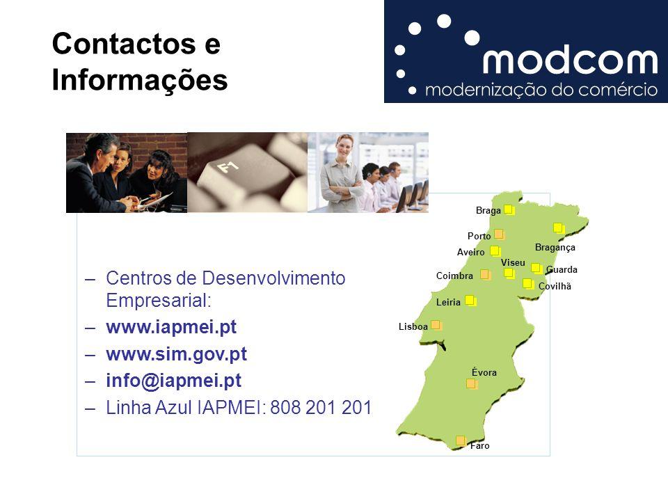 Contactos e Informações
