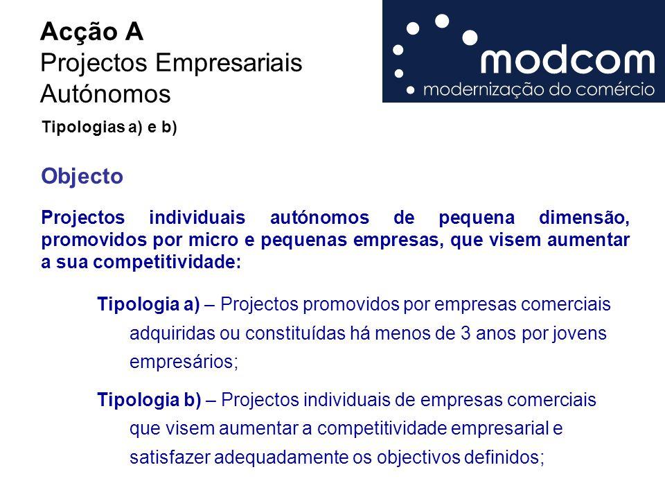 Acção A Projectos Empresariais Autónomos