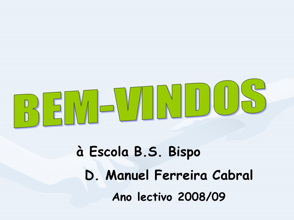 D. Manuel Ferreira Cabral