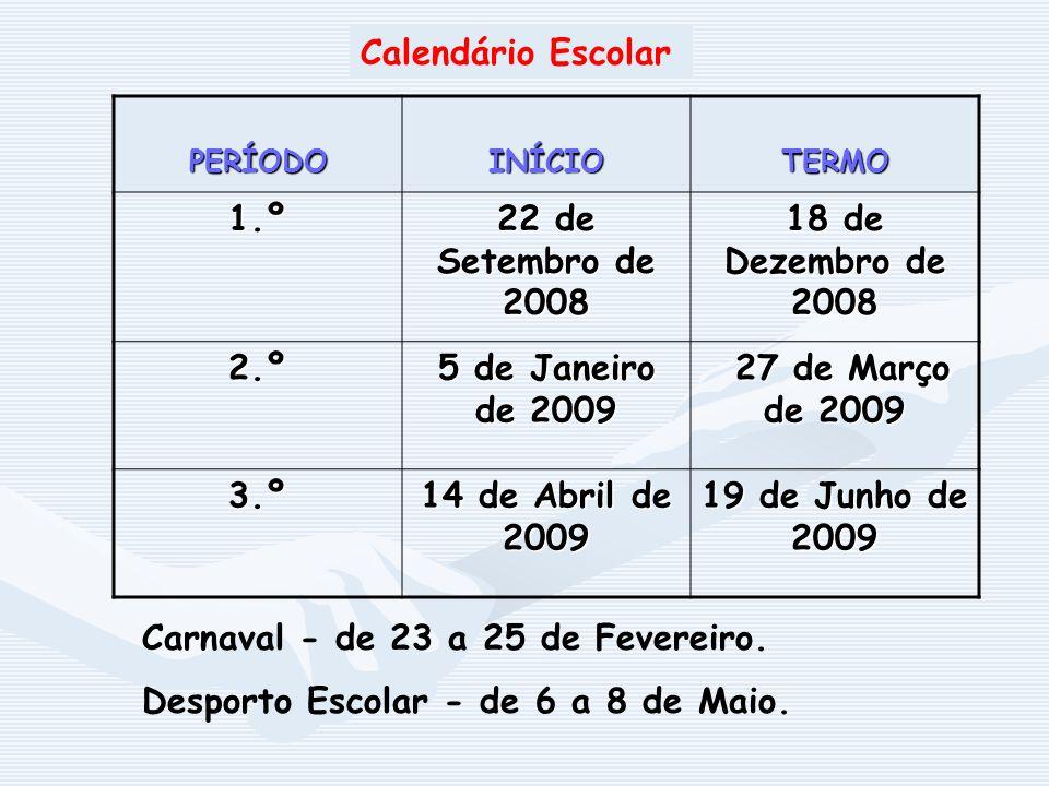 Carnaval - de 23 a 25 de Fevereiro.