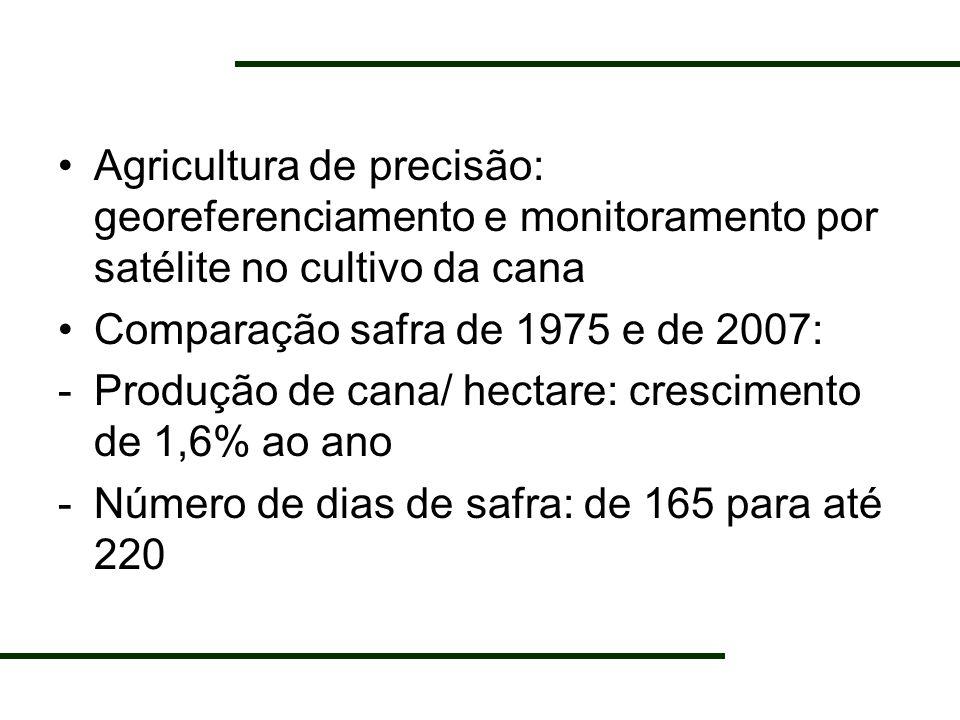 Agricultura de precisão: georeferenciamento e monitoramento por satélite no cultivo da cana