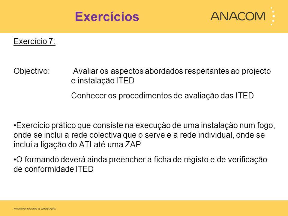 Exercícios Exercício 7: