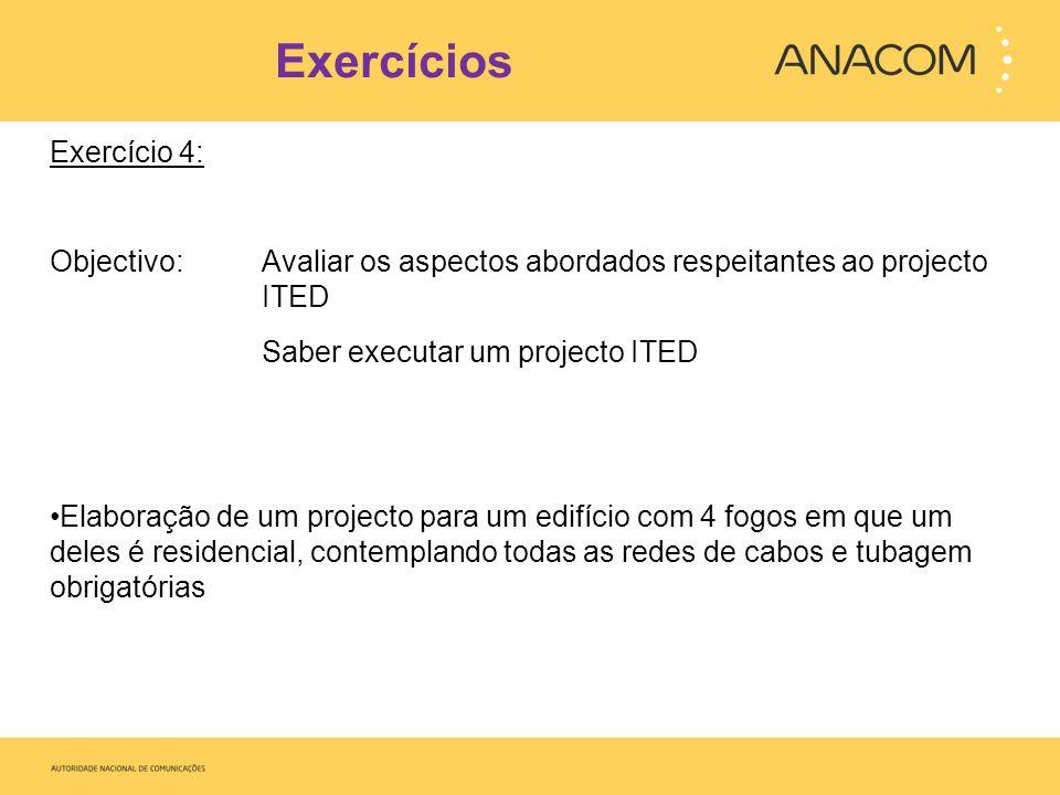 Exercícios Exercício 4: