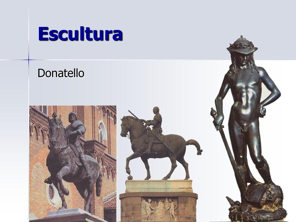 Escultura Donatello