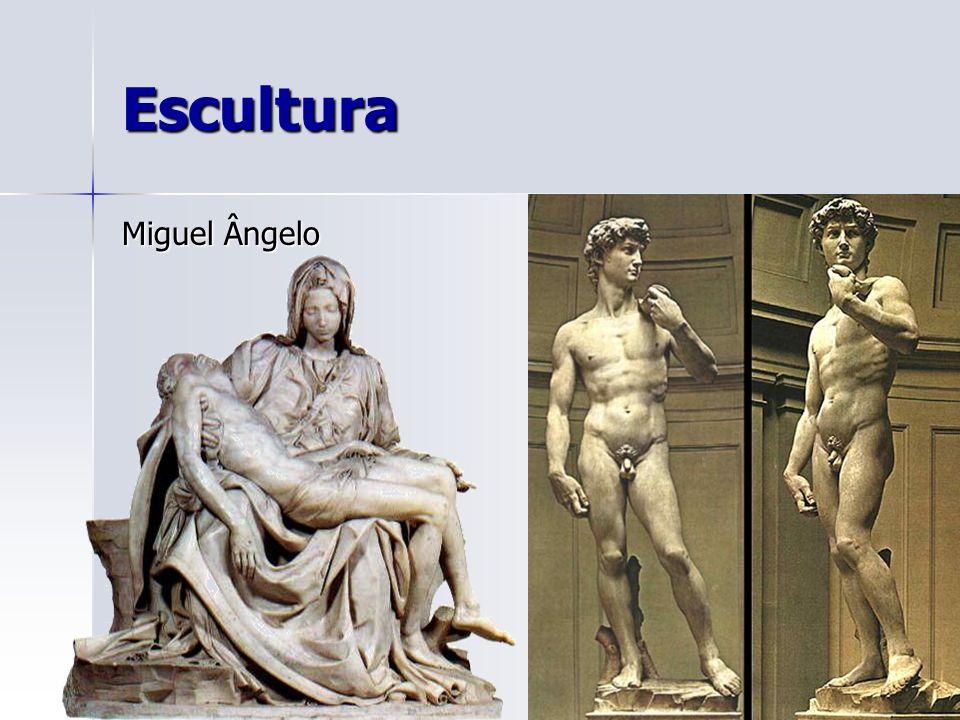 Escultura Miguel Ângelo