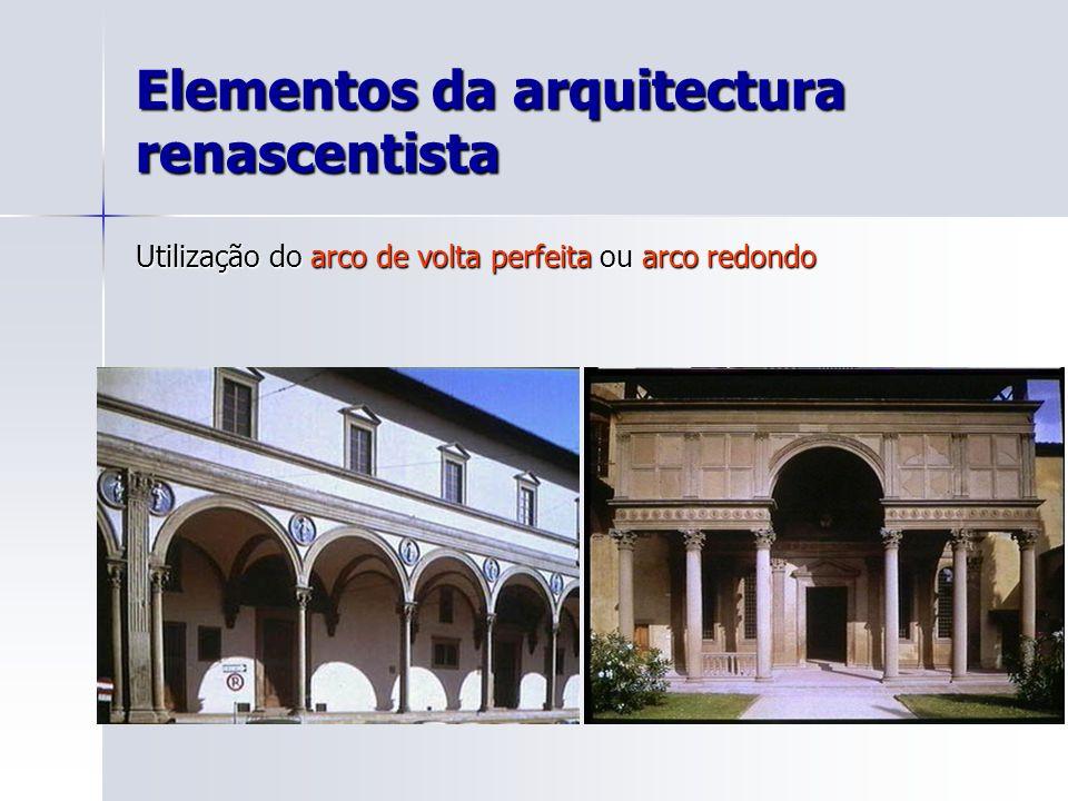 Elementos da arquitectura renascentista