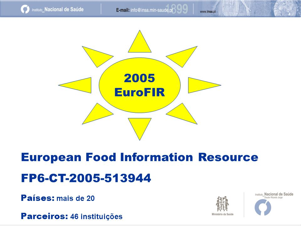 European Food Information Resource FP6-CT-2005-513944