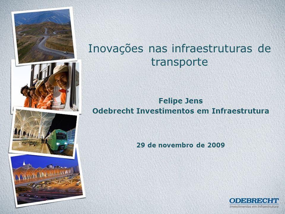 Inovações nas infraestruturas de transporte