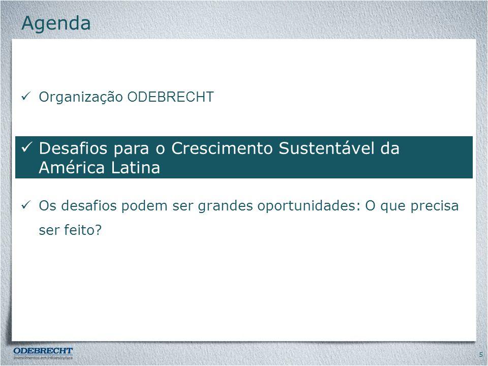 Agenda Desafios para o Crescimento Sustentável da América Latina