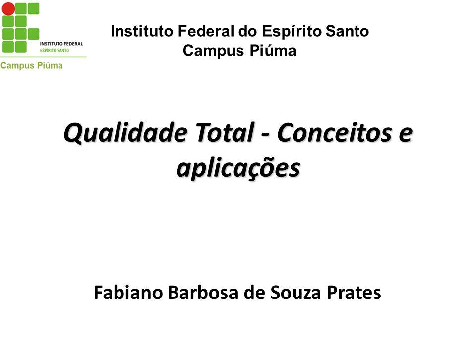 Qualidade Total - Conceitos e aplicações
