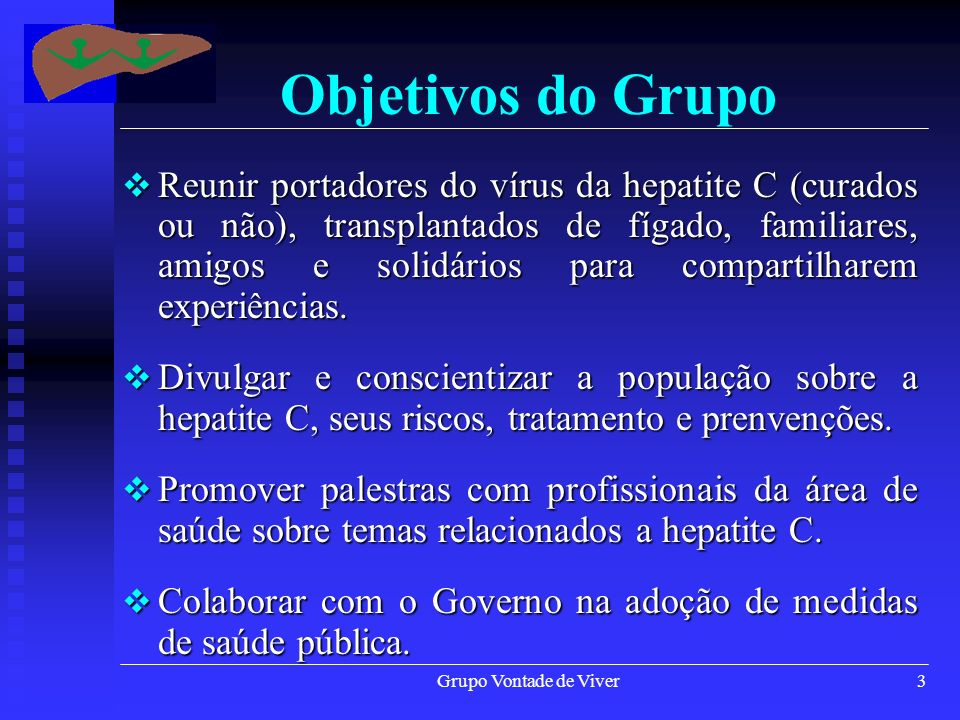 Objetivos do Grupo