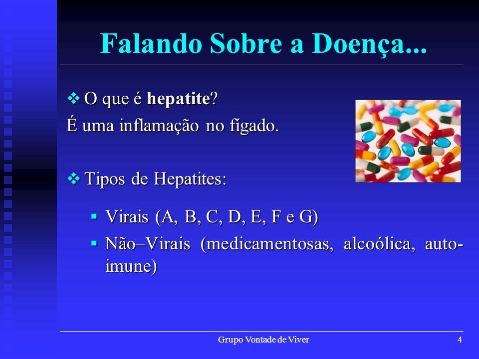 Falando Sobre a Doença... O que é hepatite