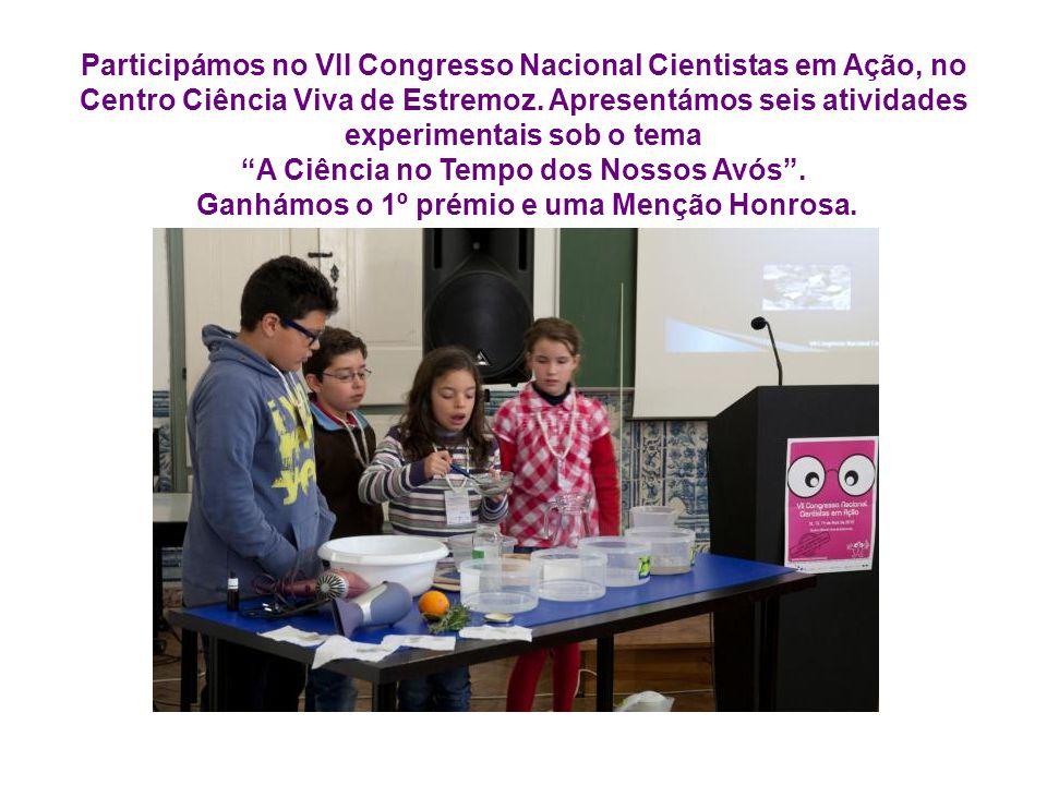 Participámos no VII Congresso Nacional Cientistas em Ação, no Centro Ciência Viva de Estremoz.
