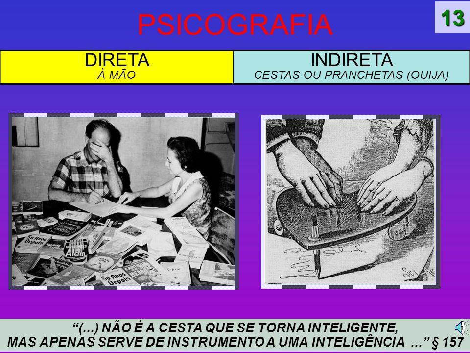 INDIRETA CESTAS OU PRANCHETAS (OUIJA)