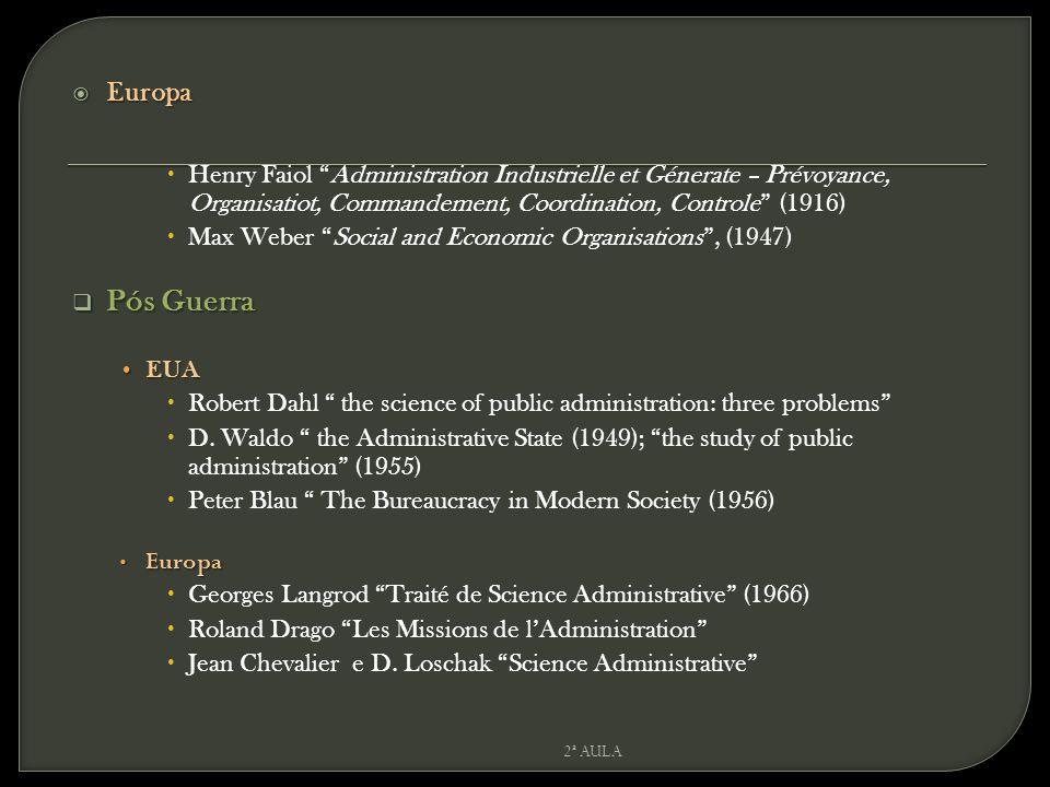 Europa Henry Faiol Administration Industrielle et Génerate – Prévoyance, Organisatiot, Commandement, Coordination, Controle (1916)