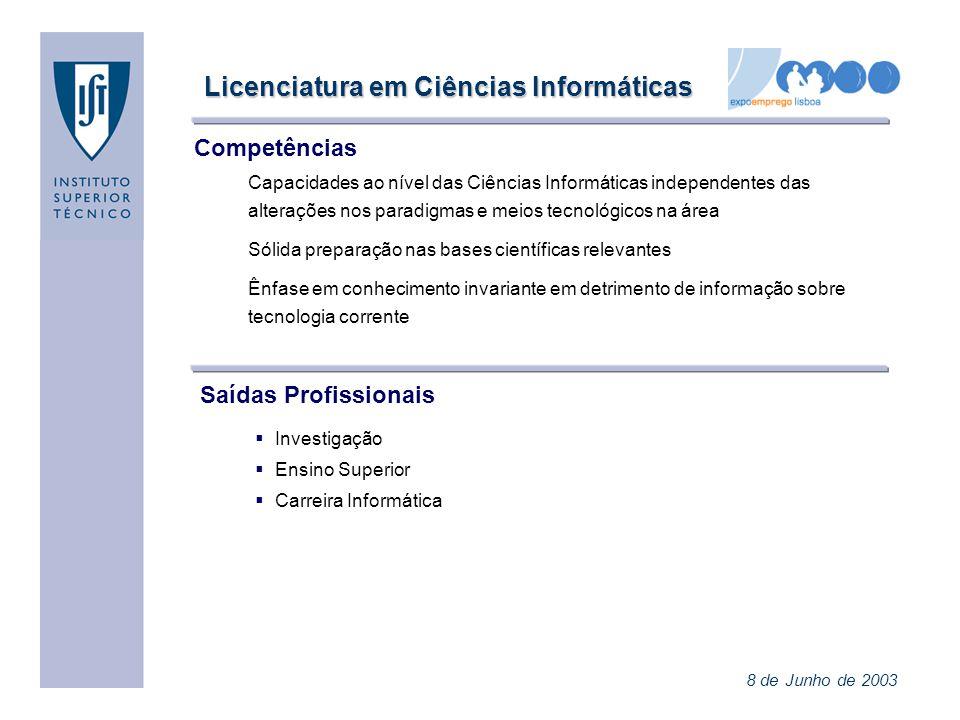 Licenciatura em Ciências Informáticas