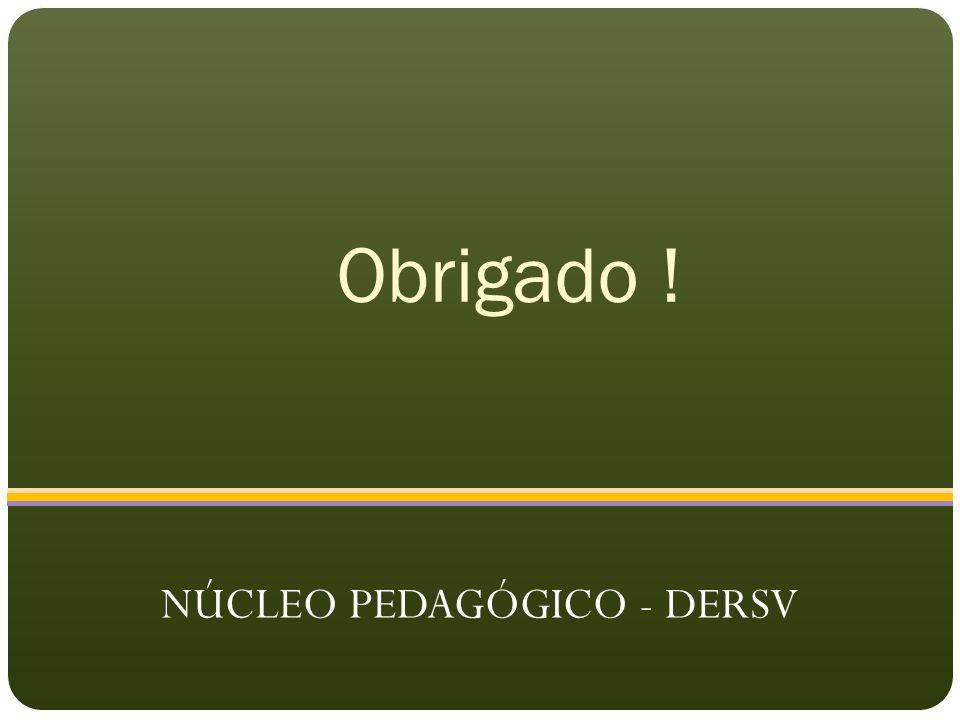 NÚCLEO PEDAGÓGICO - DERSV