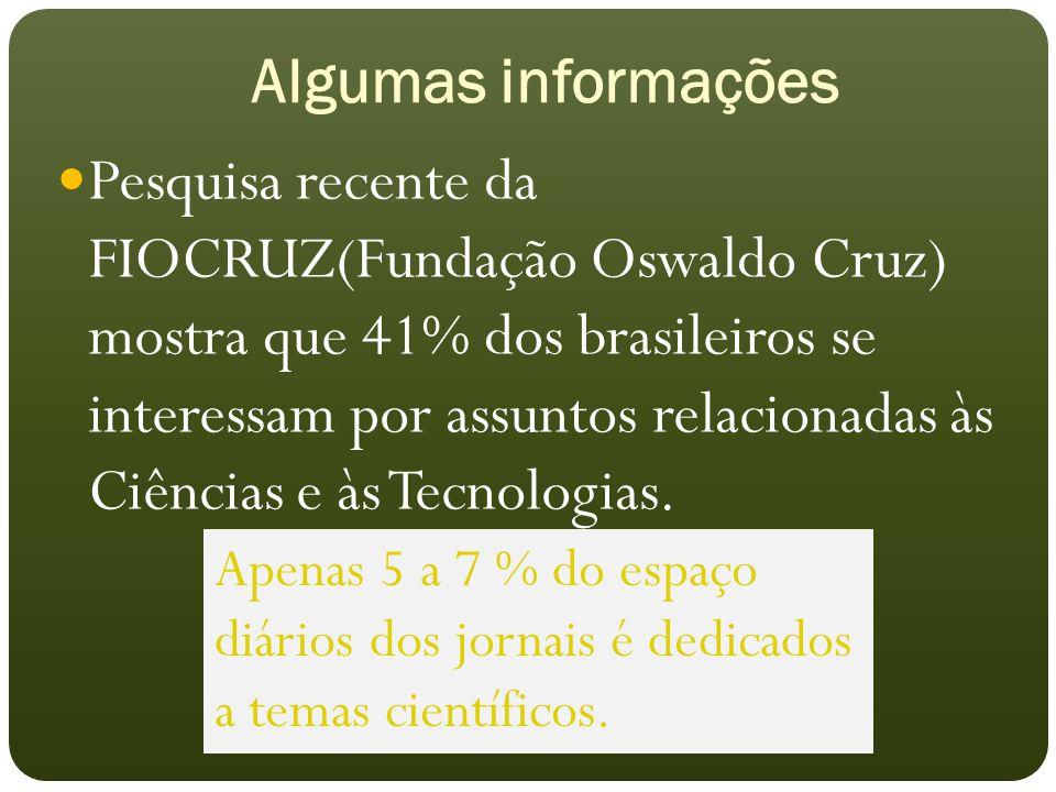 Algumas informações