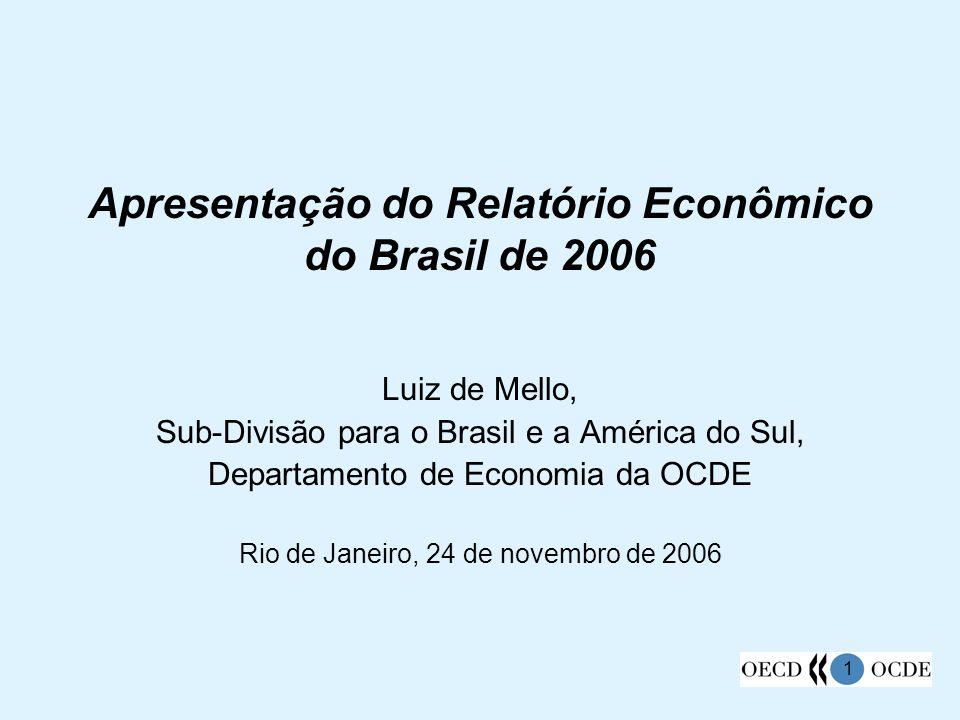 Apresentação do Relatório Econômico do Brasil de 2006