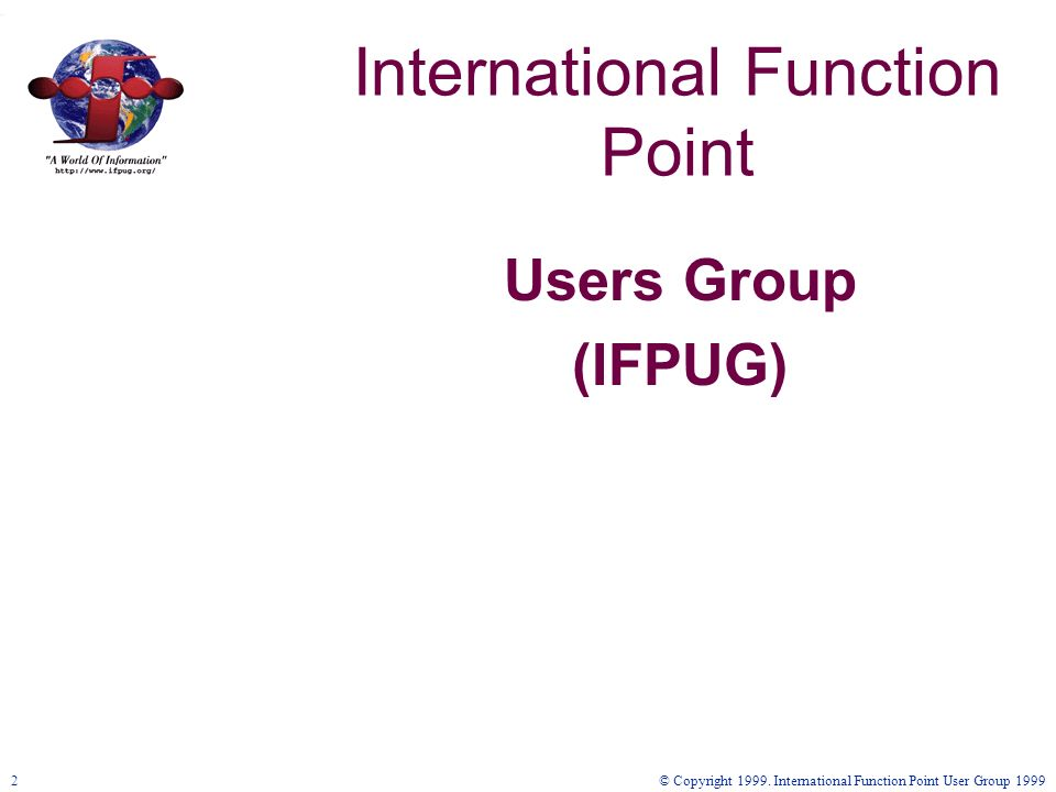 International Function Point
