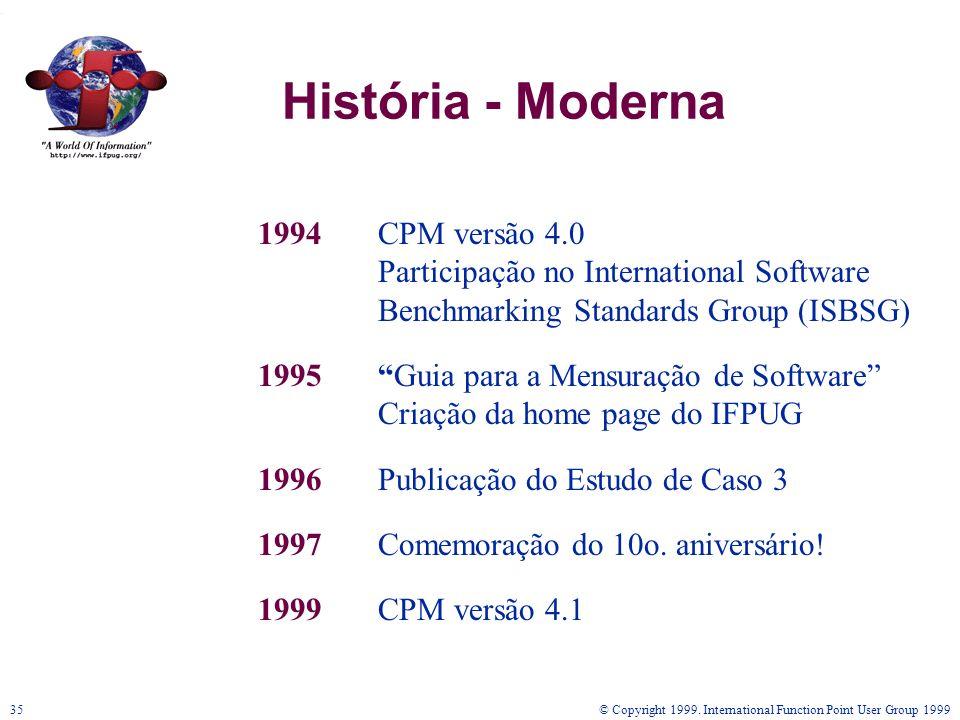História - Moderna 1994 CPM versão 4.0