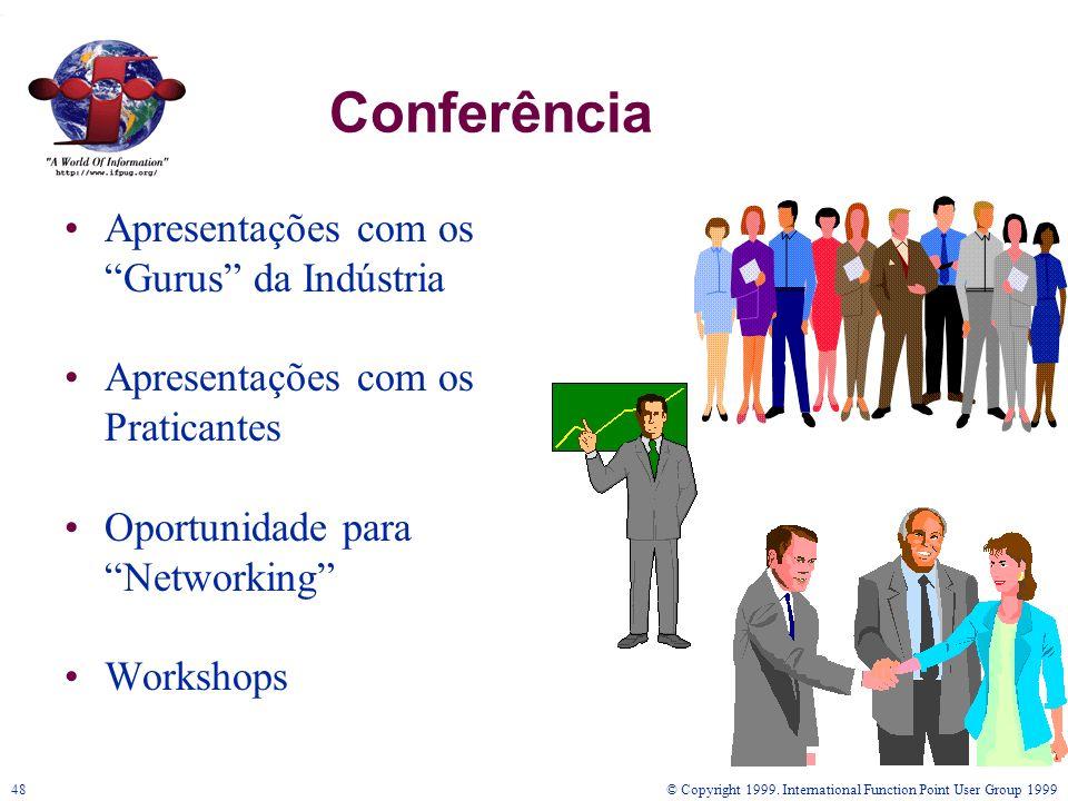 Conferência Apresentações com os Gurus da Indústria