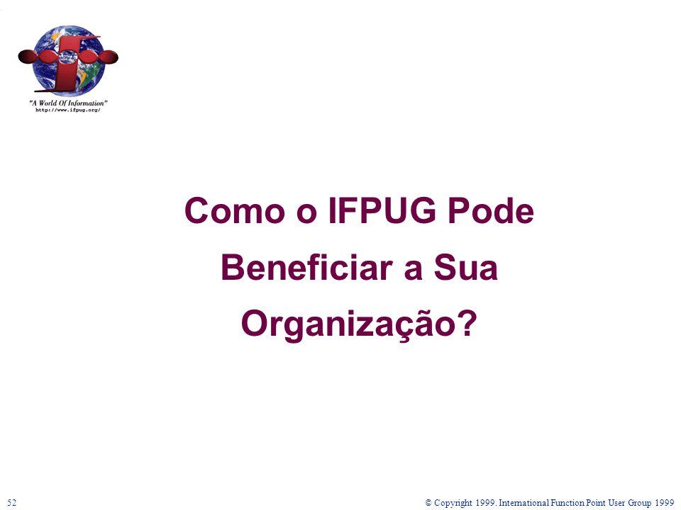 Como o IFPUG Pode Beneficiar a Sua Organização