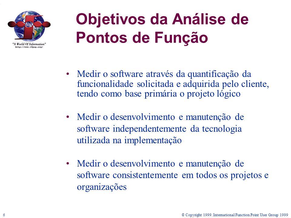 Objetivos da Análise de Pontos de Função