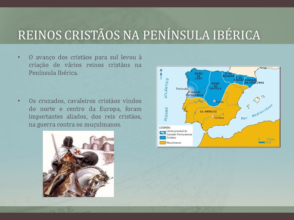 Reinos cristãos na Península Ibérica