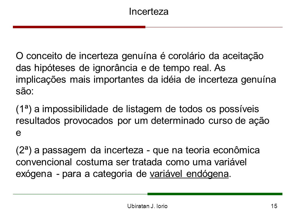 Incerteza