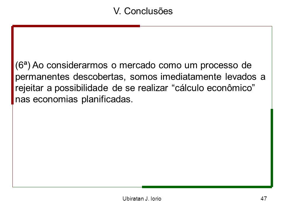 V. Conclusões