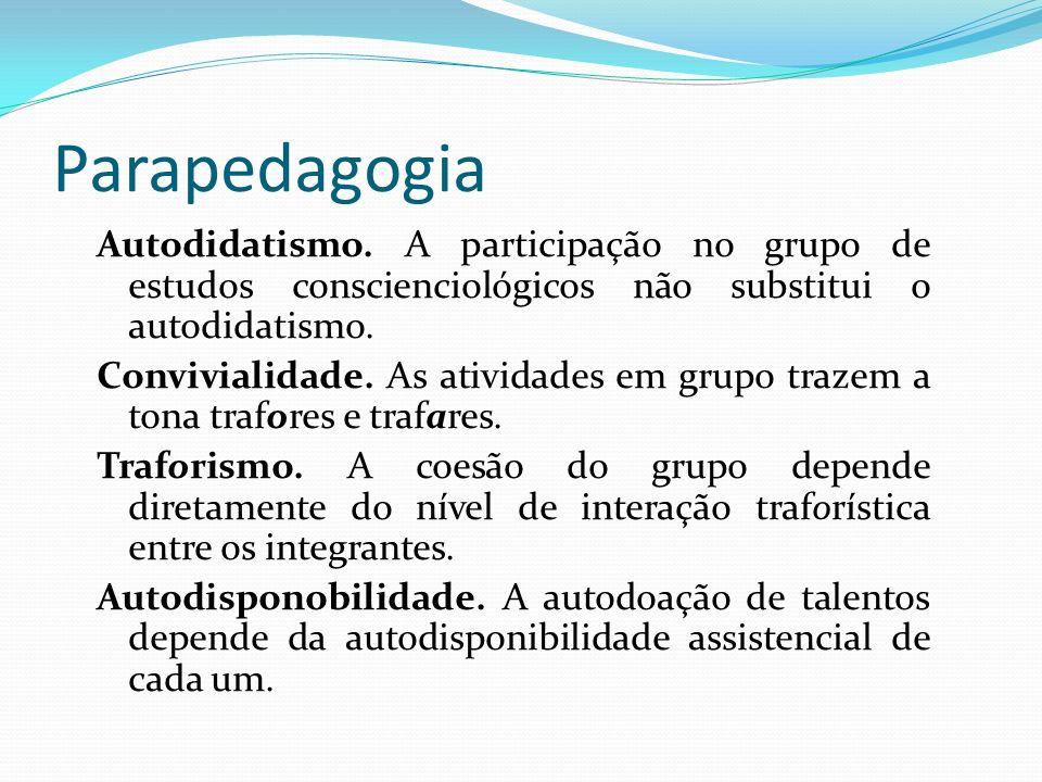Parapedagogia Autodidatismo. A participação no grupo de estudos conscienciológicos não substitui o autodidatismo.