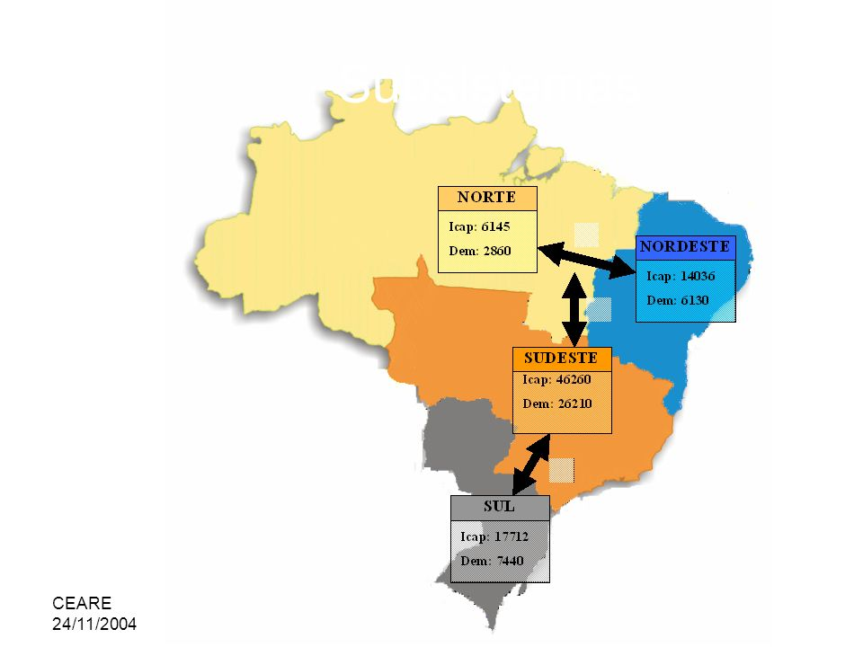 Subsistemas CEARE 24/11/2004 adilson@ie.ufrj.br