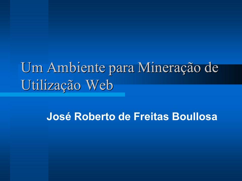 Um Ambiente para Mineração de Utilização Web