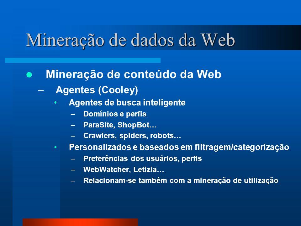 Mineração de dados da Web