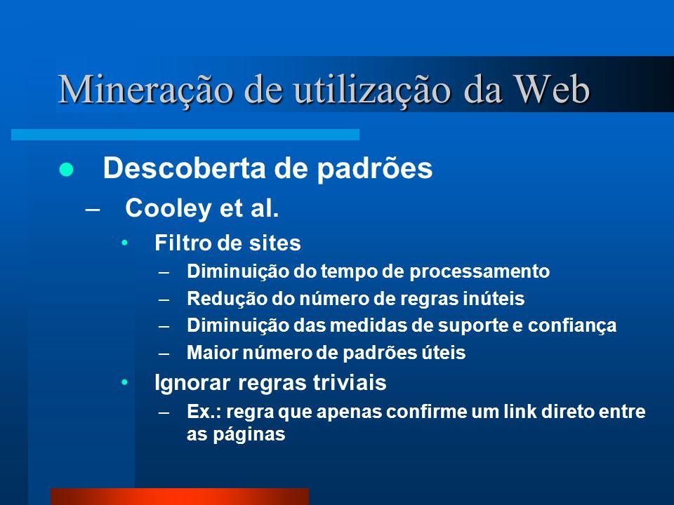 Mineração de utilização da Web