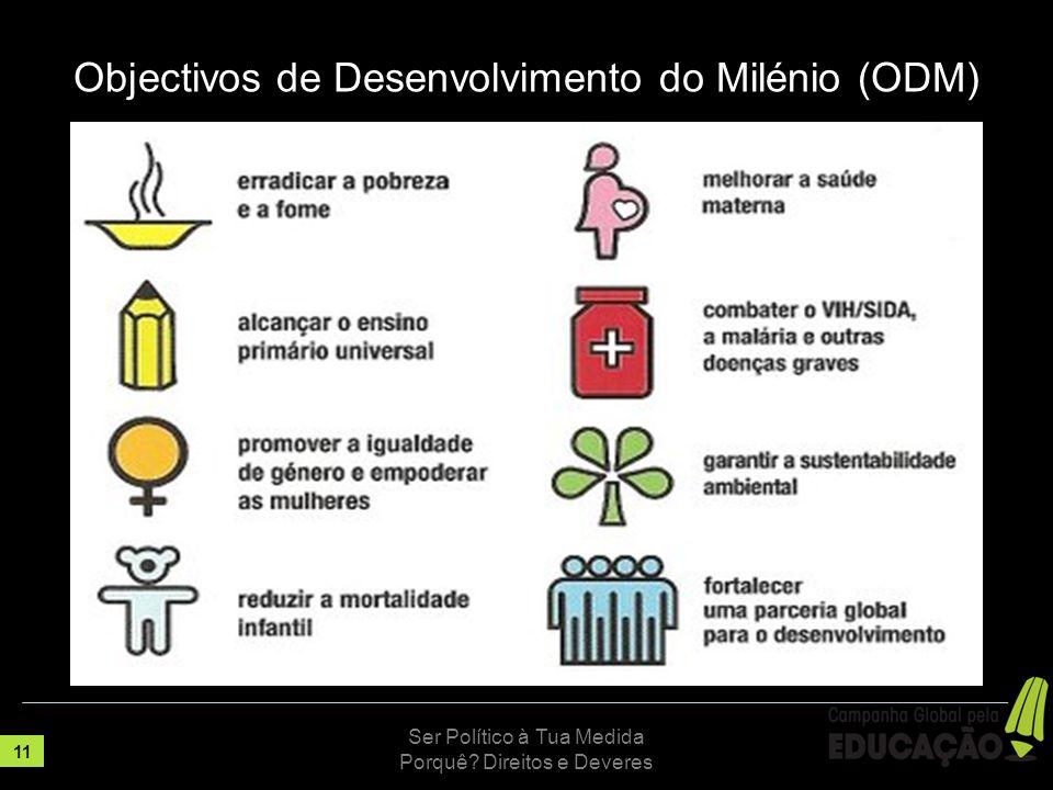 Objectivos de Desenvolvimento do Milénio (ODM)