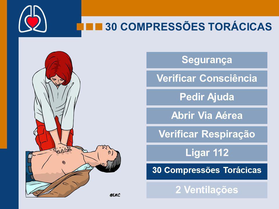 30 COMPRESSÕES TORÁCICAS