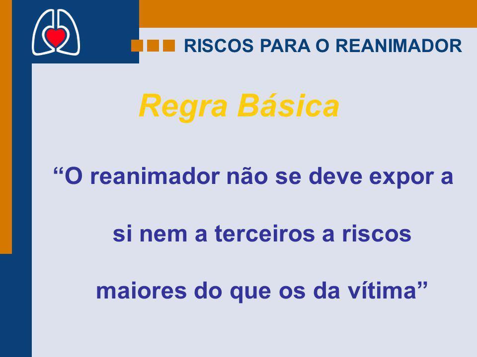 RISCOS PARA O REANIMADOR
