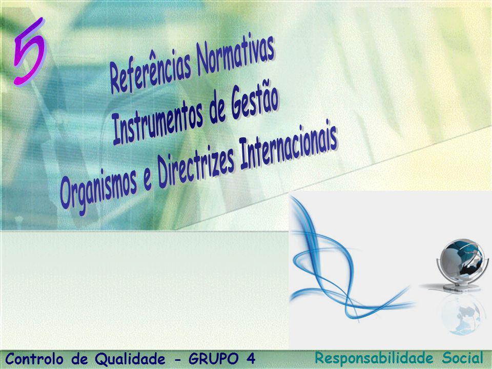 Referências Normativas Instrumentos de Gestão