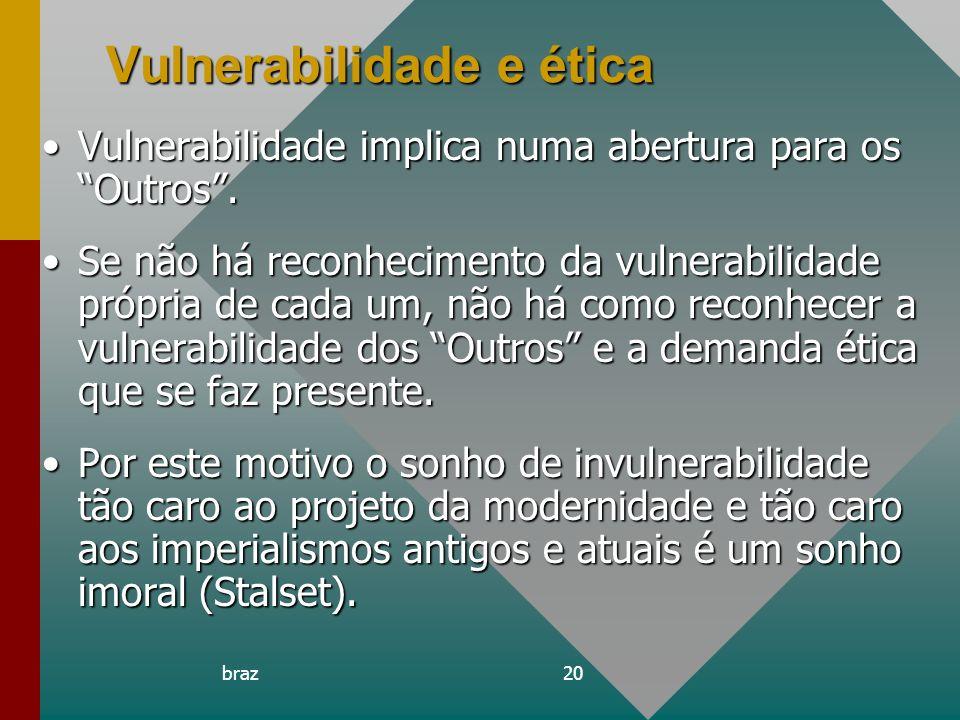 Vulnerabilidade e ética